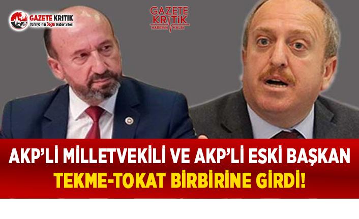 AKP'li Milletvekili ve AKP'li Eski Başkan Tekme-Tokat...