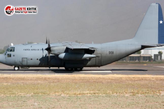 Askeri Uçak Üsse Giderken Kayboldu