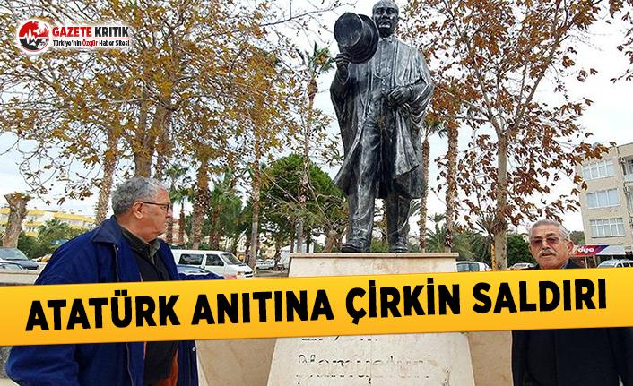 Atatürk Anıtına Çirkin Saldırı