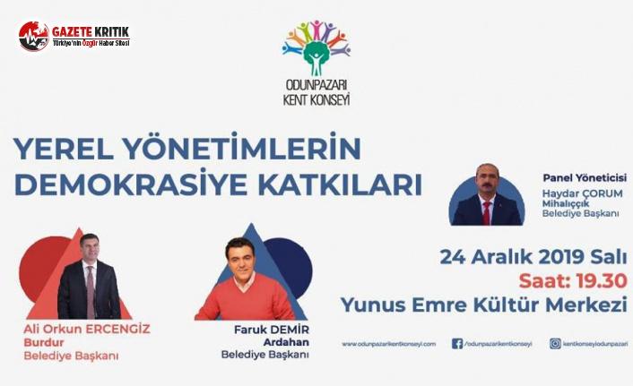 Başkan Ercengiz, Eskişehir Odunpazarı Kent Konseyi'ne Katılacak