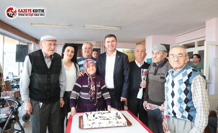 Başkan Ercengiz'in Huzurevi Ziyareti