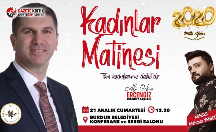 Başkan Ercengiz'den Yeni Yıl Matinesi