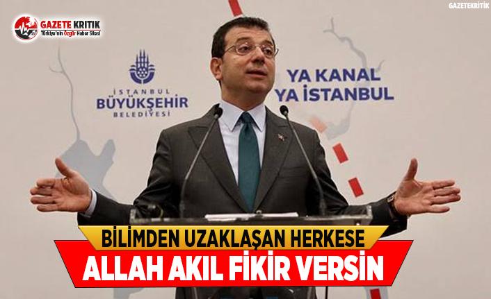 Başkan İmamoğlu Kanal İstanbul'un Getireceği Tehlikeleri Anlattı