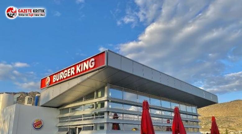 Burger King KKTC'de Ambargoyu Deldi