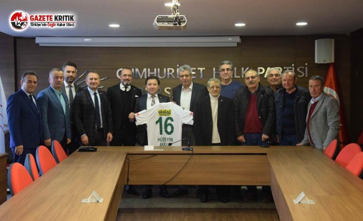 Bursaspor Yönetiminden CHP'ye Ziyaret