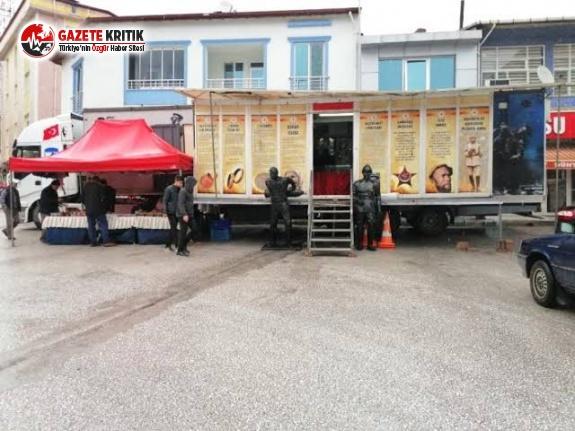 Çanakkale Gezici Müze Tırı Burdur'a Geliyor