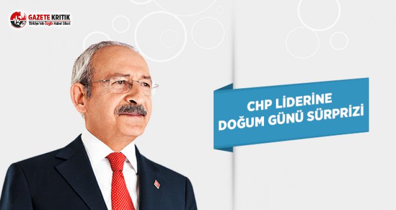CHP Lideri Kılıçdaroğlu'na Doğum Günü Sürprizi