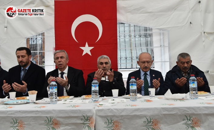 CHP Lideri Kılıçdaroğlu'ndan Şehit Astsubay Yıldırım'ın Ailesine Taziye Ziyareti