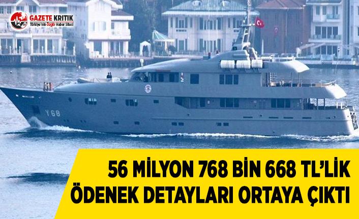 Cumhurbaşkanlığının 56 Milyon 768 Bin 668 TL'lik...