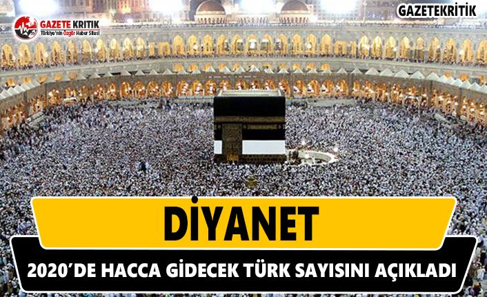 Diyanet 2020'de Hacca Gidecek Türk Sayısı Açıkladı
