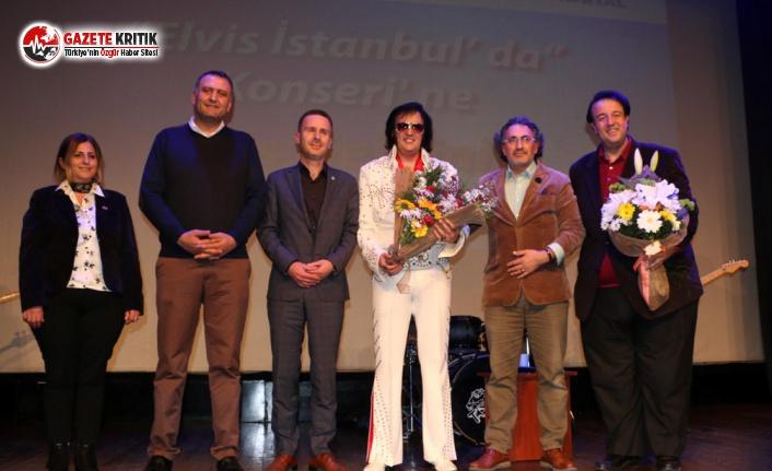 'Elvis İstanbul'da By Volkan Erk' Konserine Kartallılar Yoğun İlgi Gösterdi