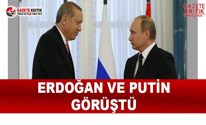 Erdoğan ve Putin Görüştü