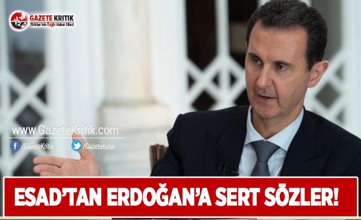 Esad'dan Erdoğan'a Sert Sözler!