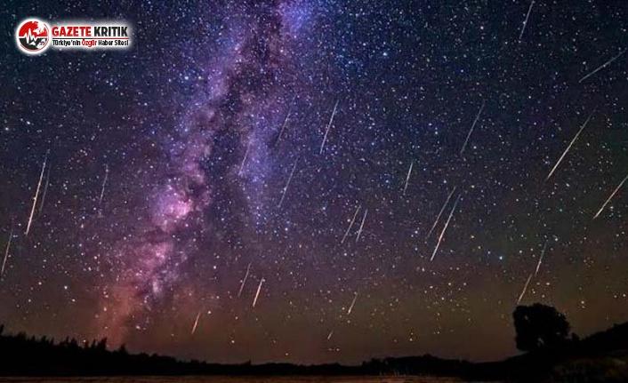 Geminid Meteor Yağmuru Türkiye'den de Görülecek