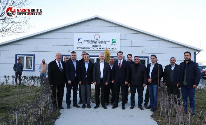 Isparta Belediye Başkanı Şükrü Başdeğirmen'den Katı Atık Bertaraf Tesisi Ziyareti