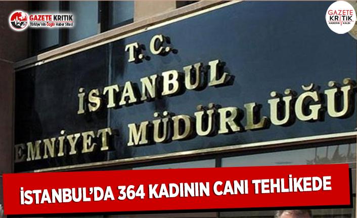 İstanbul'da 364 Kadının Canı Tehlikede!