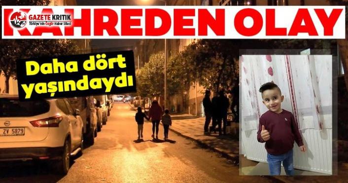 İstanbul'da Kahreden Kaza: 4 Yaşındaki Çocuğu Ezdi