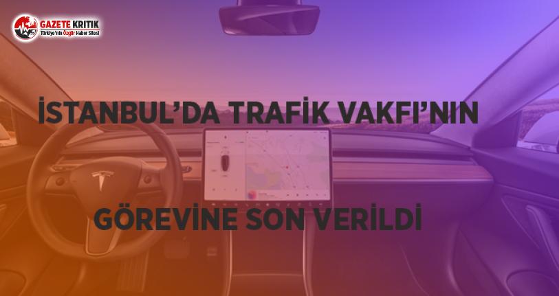 İstanbul'da Trafik Vakfı'nın Görevine...