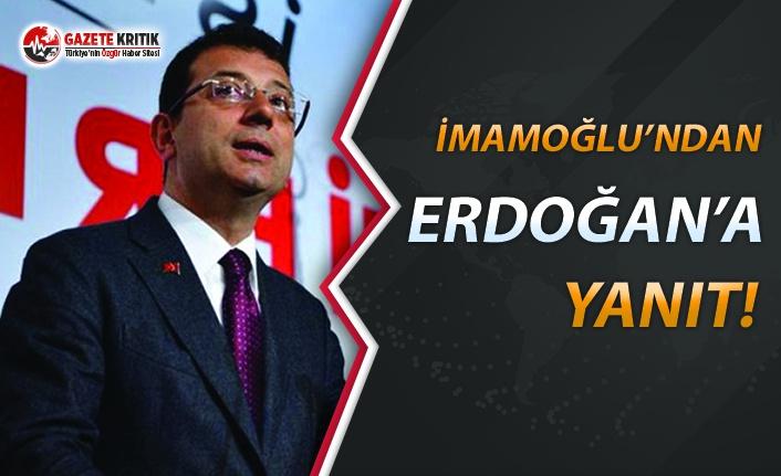 'İstanbul Seçimlerini AKP Kazandı' Diyen Erdoğan'a İmamoğlu'ndan Yanıt
