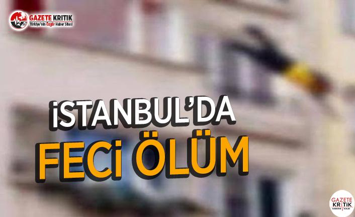 İstanbul'da Feci Ölüm
