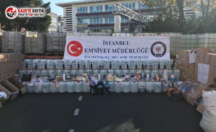 İstanbul'un En Lüks Mekanlarında Sahte İçki!