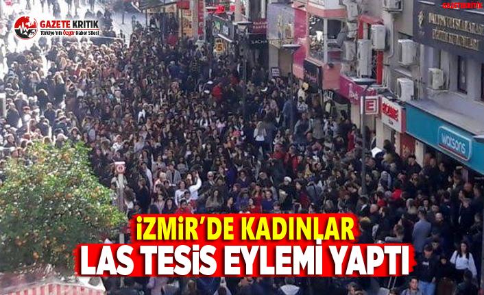 İzmir'de Kadınlar Las Tesis Eylemi Yaptı