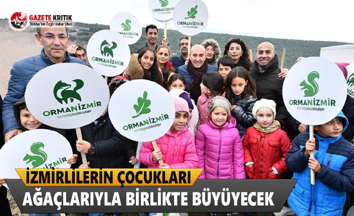 İzmirlilerin Çocukları, Ağaçlarıyla Birlikte Büyüyecek