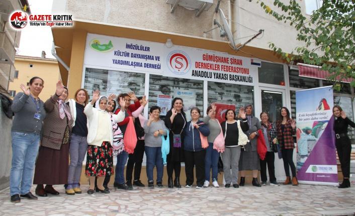 Kartallı Kadınlar, Geri Dönüşümü Çantalarında Taşıyor