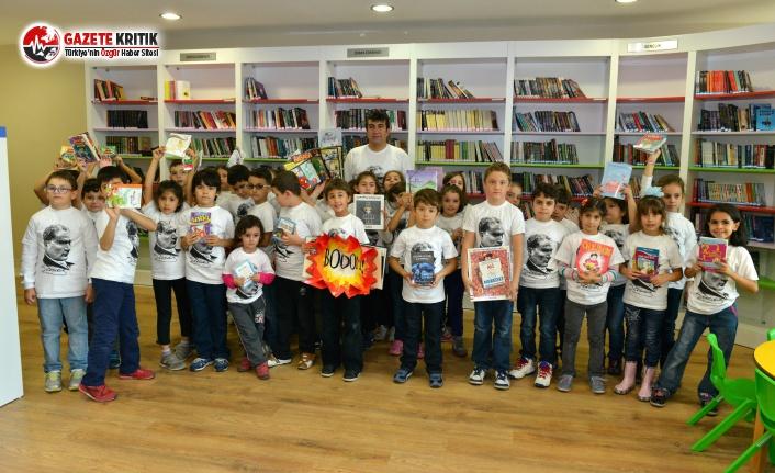 Konyaaltı Belediyesi Kütüphanesinde 20 Bin Kitap