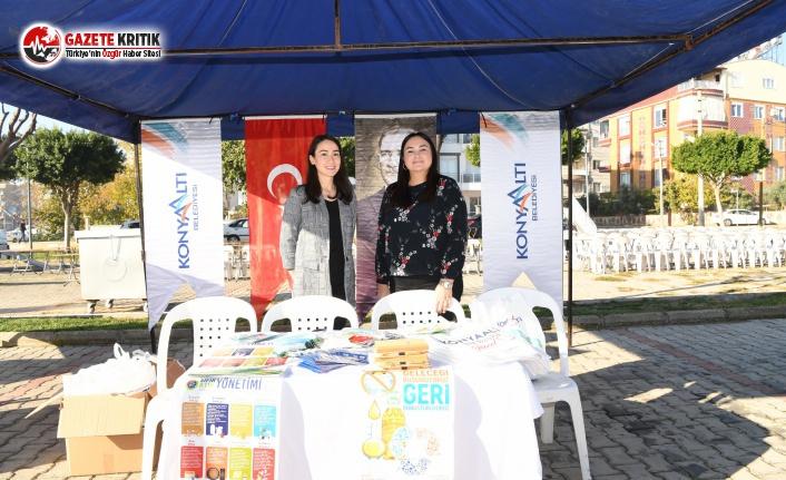 Konyaaltı Belediyesi Sıfır Atık Projelerini tanıttı