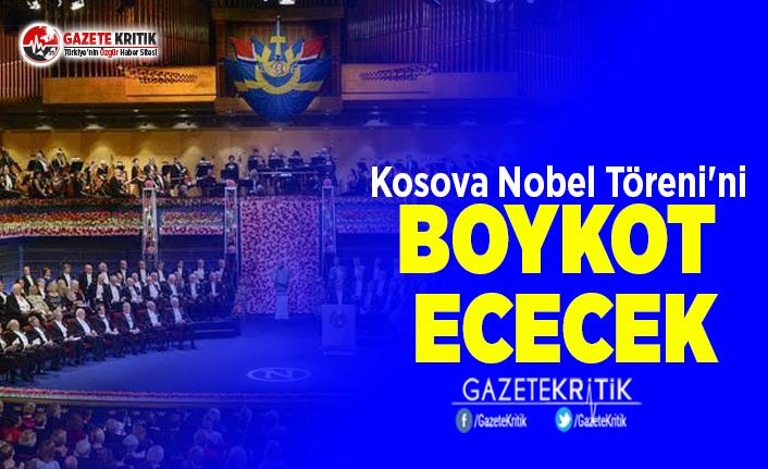 Kosova Nobel Töreni'ni Boykot Edecek