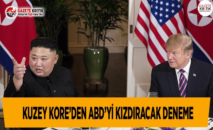 Kuzey Kore'den ABD'yi Kızdıracak Deneme