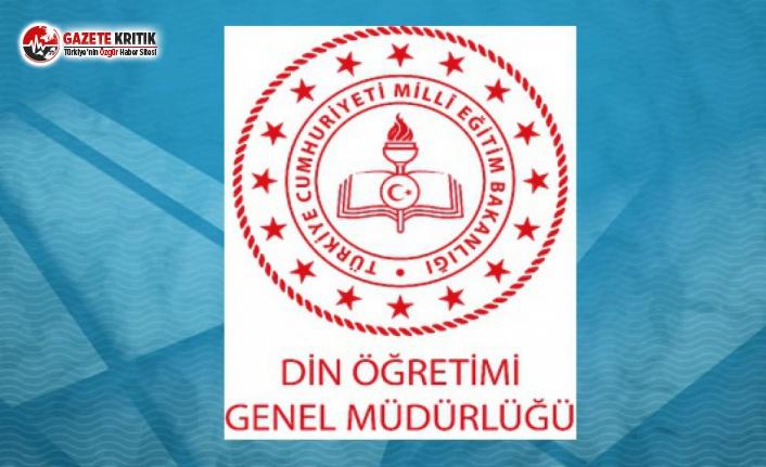 MEB Din Öğretimi Genel Müdürlüğü'nden 'Harcayın' Talimatı