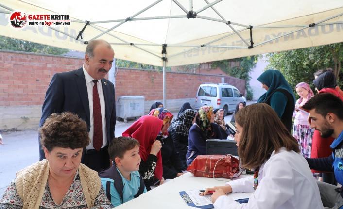 Mudanya'da İki Ayda Bin Kişiye Diyetisyen Hizmeti