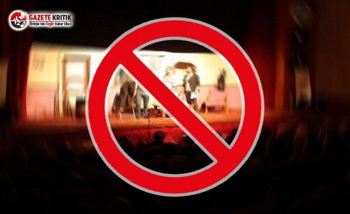 Sanata Bir Engel Daha: Yasaklandı