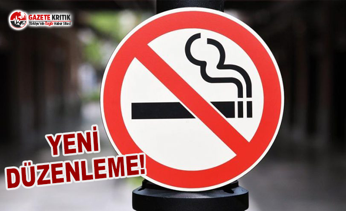 Sigara İçilebilen Alanlarda Yeni Düzenleme