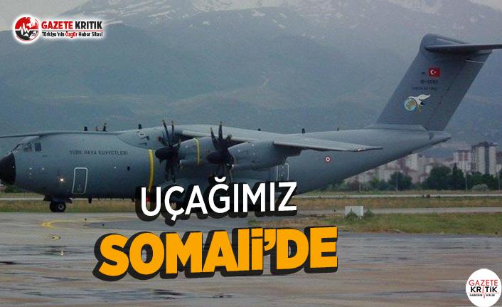 Somali'ye Yardım Uçağı Gönderildi