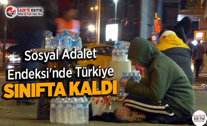Sosyal Adalet Endeksi'nde Türkiye Sınıfta Kaldı