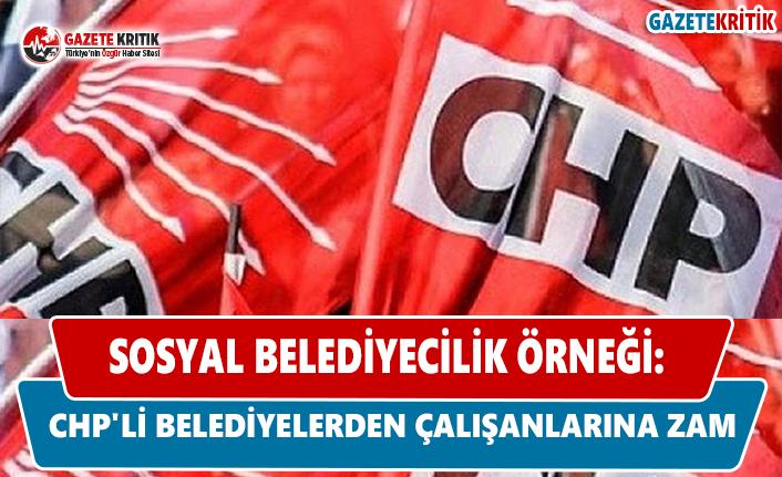 Sosyal Belediyecilik Örneği: CHP'li Belediyelerden...