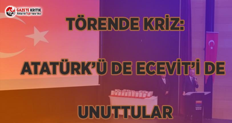 Törende Kriz: Atatürk'ü de Ecevit'i de...