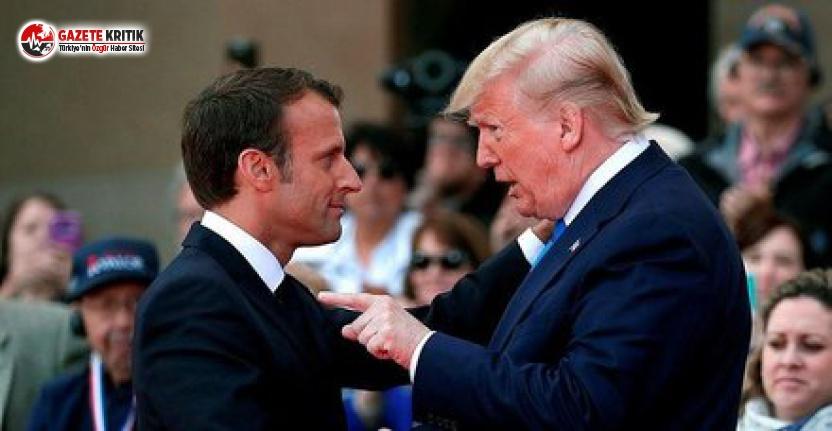 Trump'tan Macron'a Türkiye Açıklaması