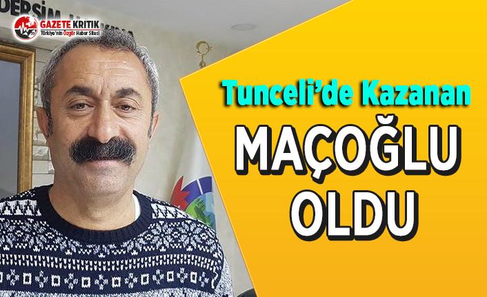 Tunceli'de Kazanan Maçoğlu Oldu