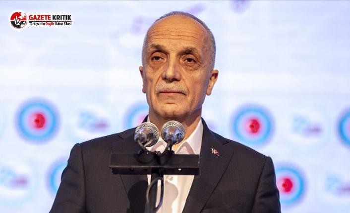 TÜRK-İŞ Genel Başkanı Ergün Atalay'ın Asgari Ücret Açıklaması