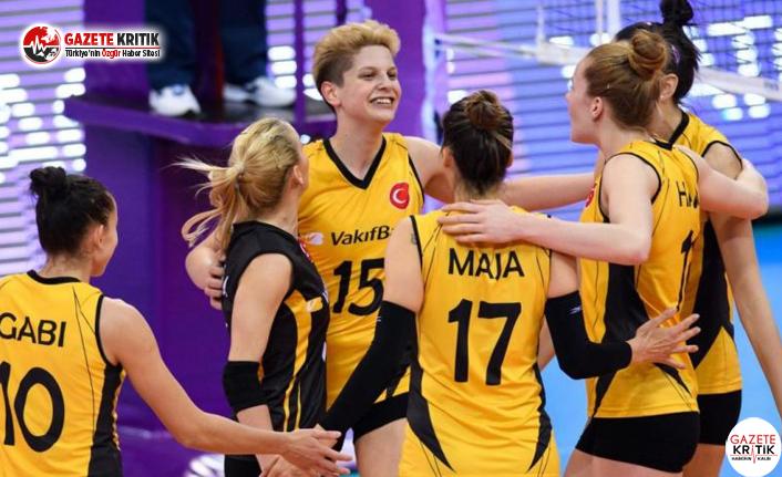 VakıfBank Voleybol Takımı Madalyayla Döndü