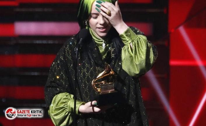 62. Grammy ödülleri sahiplerini buldu: Geceye  18 yaşındaki Billie Eilish damga vurdu