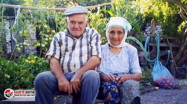 68 yıllık evli çift, 10 dakika arayla hayattan ayrıldı