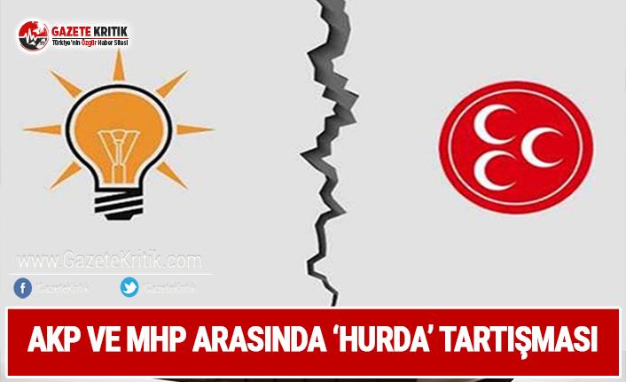 AKP ve MHP Arasında 'Hurda' Tartışması