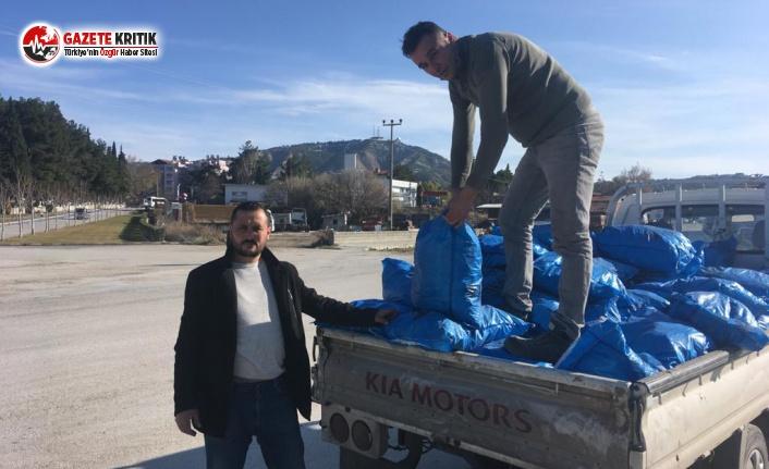 Burdur Belediyesi'nden Kömür Yardımı