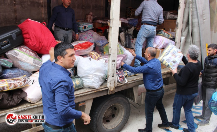 CHP Antalya İl Başkanlığı'ndan Elazığ'a destek