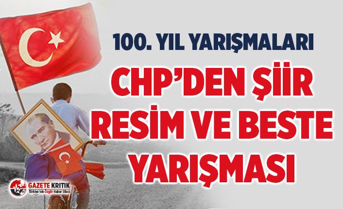 CHP'den Şiir, Resim ve Beste Yarışması
